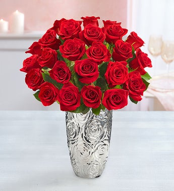 image of Two Dozen Red Roses