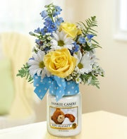 Soft Blanket? Yankee Candle� Boy Bouquet