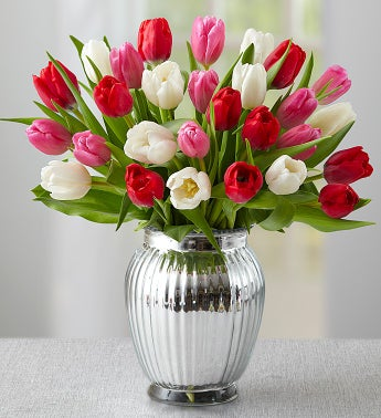 Sweetest Love Tulips, 30 Stems