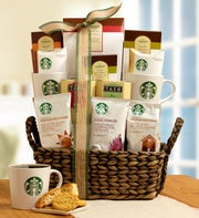 Starbucks Break Time Gift Basket