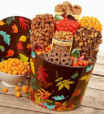 The Popcorn Factory� Autumn Prism Snack Asst