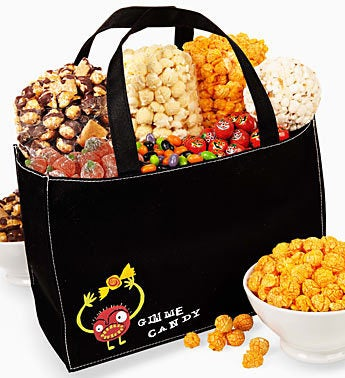 The Popcorn Factory� Gimme Candy Snack Tote