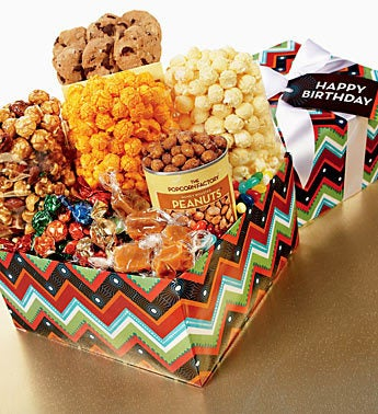 The Popcorn Factory� Happy Birthday Zig Zag Smplr