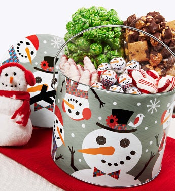 The Popcorn Factory� Snowtime Fun Pail