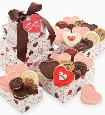 Cheryl's Valentine Gift Tower