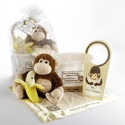 """Five Little Monkeys"" 5-Piece Baby Gift Basket"