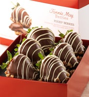 Fannie May Pixie Chocolate Covered Strawberries