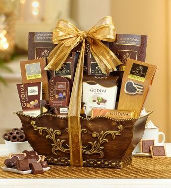 Grande Godiva Indulgence Gift Basket