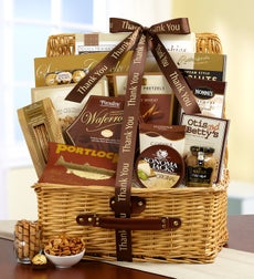 With Much Gratitude Thank You Gift Basket