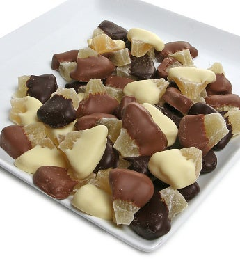 Chocolate Covered Pineapples
