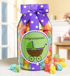 Congrats to the New Parents! Sweets Jar