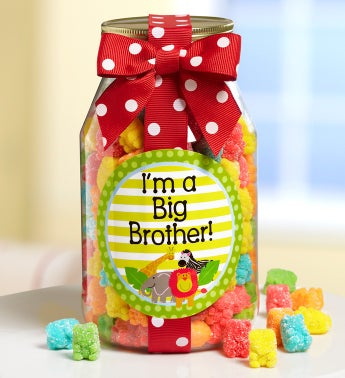 I'm a Big Brother! Teddy Gummies Jar