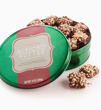 Fannie May� Almond Buttercrunch Tin
