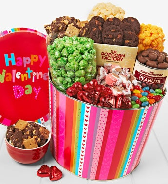 The Popcorn Factory� Happy V-Day Snack Asst