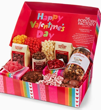The Popcorn Factory� Happy V-day Gift Box