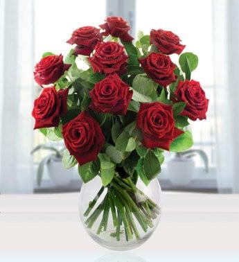 Twelve Red Roses