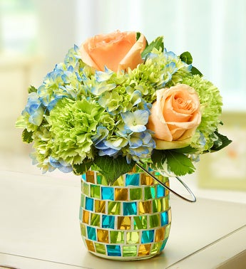 Coastal Garden - Birthday Flowers for Her