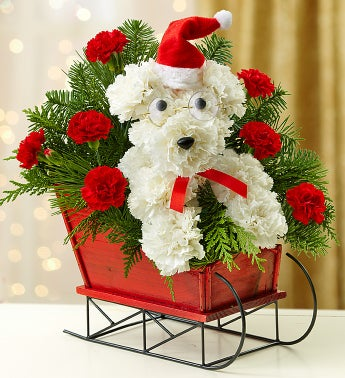 best christmas flower arrangements