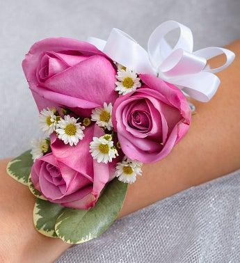 Purple Elegance Corsage - Rose - 1-800-Flowers