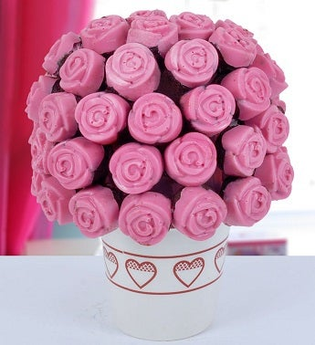 Pink Dreams Cake Bouquet