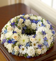 Cremation- All White and Blue