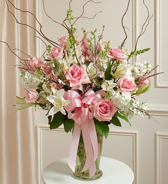 Beautiful Blessings Vase Arrangement - Pink