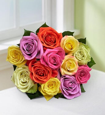 Mom's Favorite Roses, 12 Stems - Bouquet Only - 1-800-Flo...