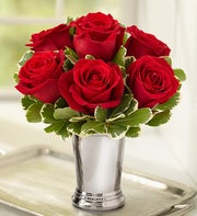 Julep Cup Rose Arrangement