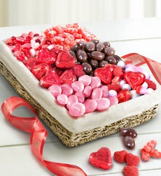 Valentine Sweets Assortment Basket