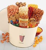 The Popcorn Factory� Tins with a Spin Munchies