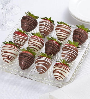 image of Decadent Chocolate Covered Strawberries