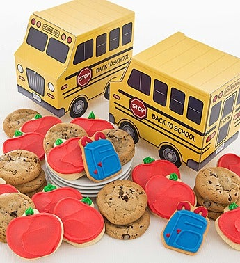 Cheryl's School Bus Cookie Box