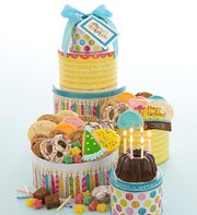 Cheryl's Musical Birthday Party Cake Tin Tower