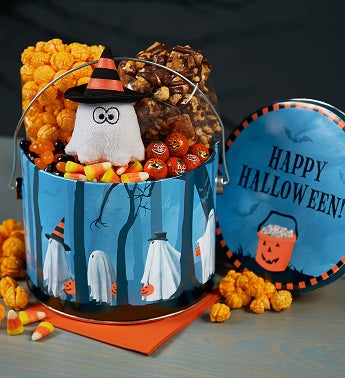 The Popcorn Factory� Trick or Trees Fun Pail