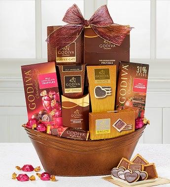 Godiva Grande Valentine Chocolate Basket