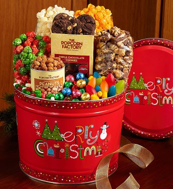 The Popcorn Factory� Merry Christmas Snack Asst.