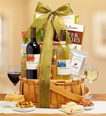 Huntington Sauvignon Wine Pairing Gift Basket