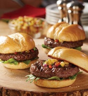 Stock Yards� Mini Prime and Choice Steak Burgers