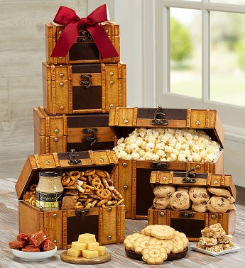 Snacker's Favorite Gourmet Trunk Tower