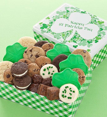 Cheryl's St Patricks Day Gift Tin With Treats