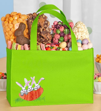 Popcorn Easter Egg Tote Bag