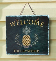 Personalized Family Welcome Sign