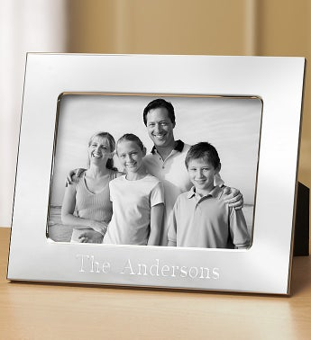 Personalized Silver Frame - 5x7 - 1-800-Flowers
