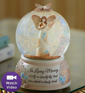 Angel Snow Globe - 1-800-Flowers