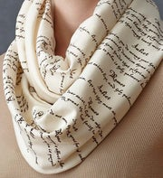 Literary Lovers Infinity Scarves