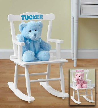 Personalized Rocking Chair for Boy or Girl - 1-800-Flowers