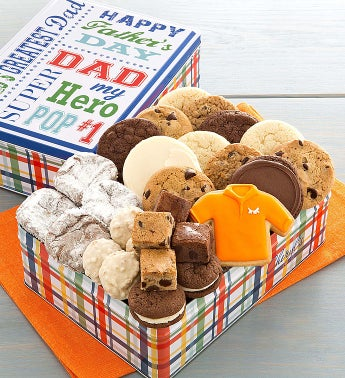 Cheryl's Fathers Day Tin with Treats