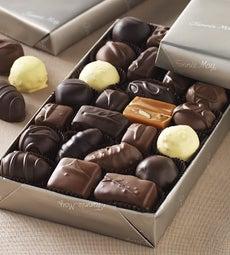 Fannie May Milk & Dark Asst Chocolates gluten free - Fannie May Asst Chocolates gluten free
