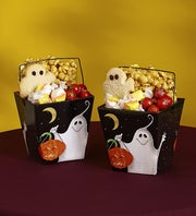 Popcorn Factory Giant Boo Take Out Totes, 2 ea
