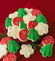 Cheryl's Holiday Frosted Cut-Out Cookies